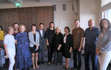 מפגש להרמת כוסית עם שגרירת תאילנד במלון שרתון תל אביב – ספטמבר 2019